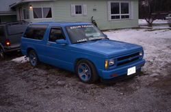 slotcarcivics 1987 Chevrolet S10 Blazer