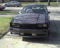 50Capris 1986 Mercury Capri
