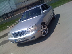 cassiusmcgees 2000 Mercedes-Benz S-Class