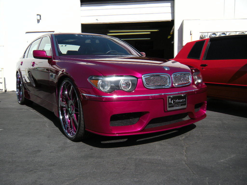 Candyredline 2003 Bmw 7 Series S Photo Gallery At Cardomain
