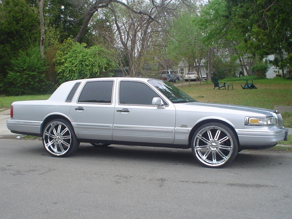 Lincoln Town Car 1995 1995 1997 Lincoln Town Car 8pc Chrome Rocker
