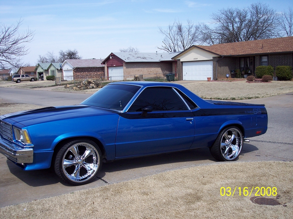 405okcboyz 39 s 1979 chevrolet el camino in oklahoma city ok. Black Bedroom Furniture Sets. Home Design Ideas
