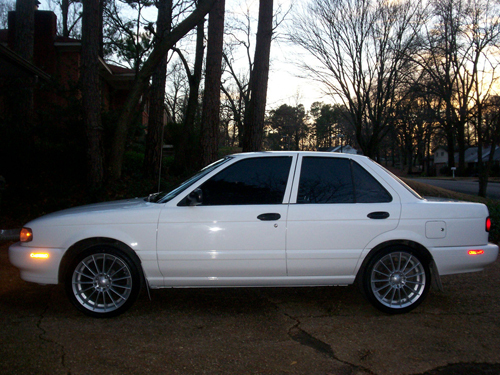white_ghost_93 1993 Nissan Sentra Specs, Photos ...