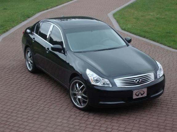 aweezy122 2007 infiniti g specs photos modification info. Black Bedroom Furniture Sets. Home Design Ideas