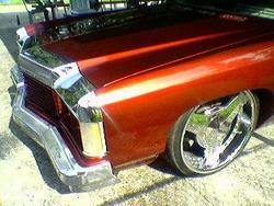 kandy_red_74s 1974 Chevrolet Impala