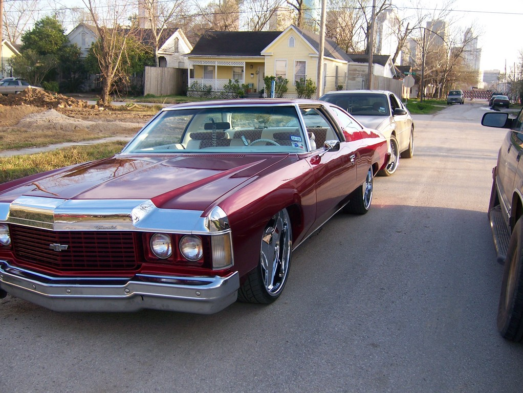 Kandy Red 74 1974 Chevrolet Impala Specs Photos