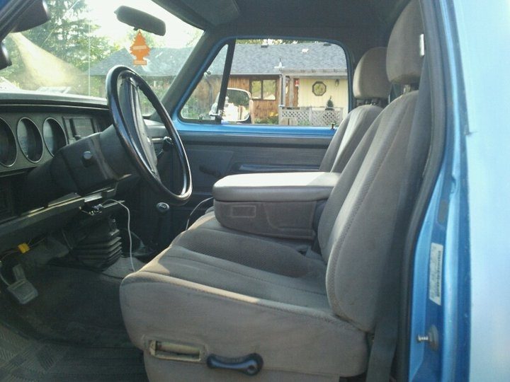 Original on Dodge Dakota Seats