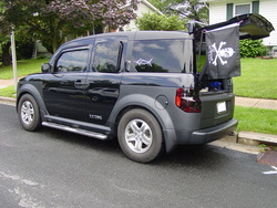 FISH-E 2005 Honda Element