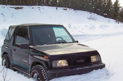 HillBilly_Delux 1991 GMC Tracker
