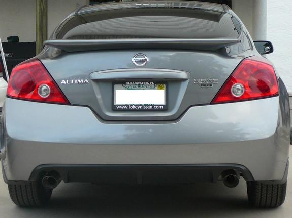 Nissan Altima Coupe 2008 3 5 Se Image Gallery  HCPR