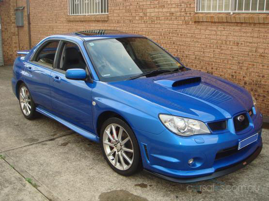 the sentinel 39 s 2006 subaru impreza in sydney. Black Bedroom Furniture Sets. Home Design Ideas