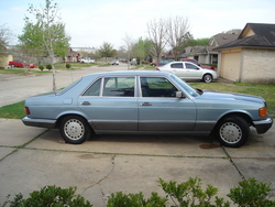 DATBOIFROM713 1989 Mercedes-Benz 560SEL
