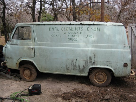 Another Poochie64Econo 1961 Ford Econoline E150 Passenger post... - 10942465