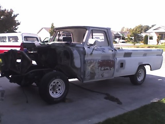 Another Lizard454 1966 Chevrolet C/K Pick-Up post... - 10947303
