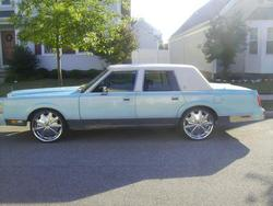 Crookedletter68 1988 Lincoln Town Car