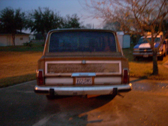 Another tone361 1986 Jeep Grand Wagoneer post... - 10960233