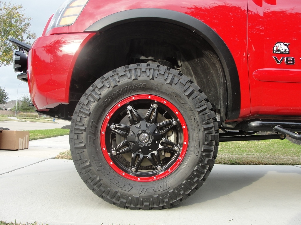 My New Custom Painted Fuel Off Road Hostages W 295 70
