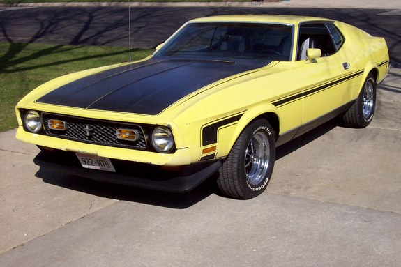 71Boss302FOUND's 1971 Ford Mustang