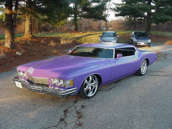 73 Buick Riviera Chopped top