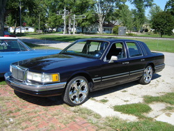 Big_Lincs 1991 Lincoln Town Car