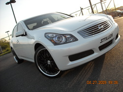 DEPTHSQUADs 2007 Infiniti G