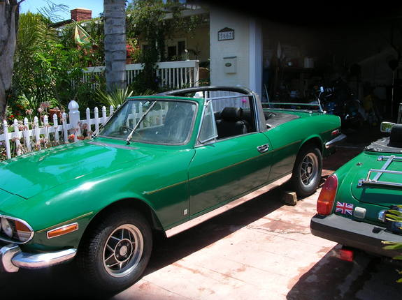 SDHARLEYGUY's 1974 Triumph Stag