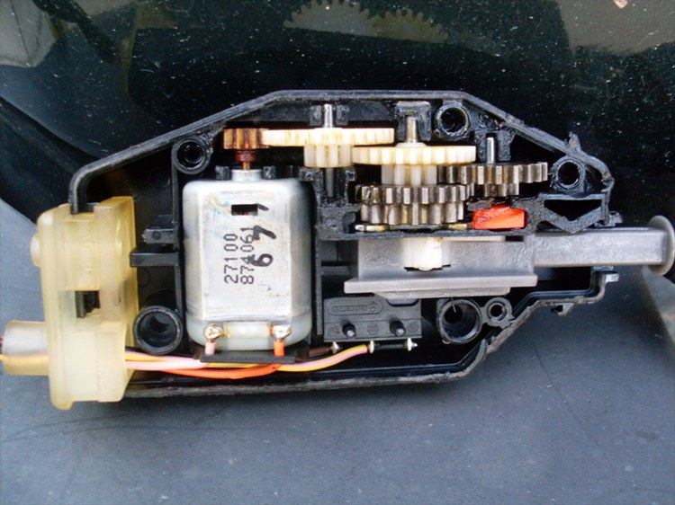 land rover discovery 2 door actuator