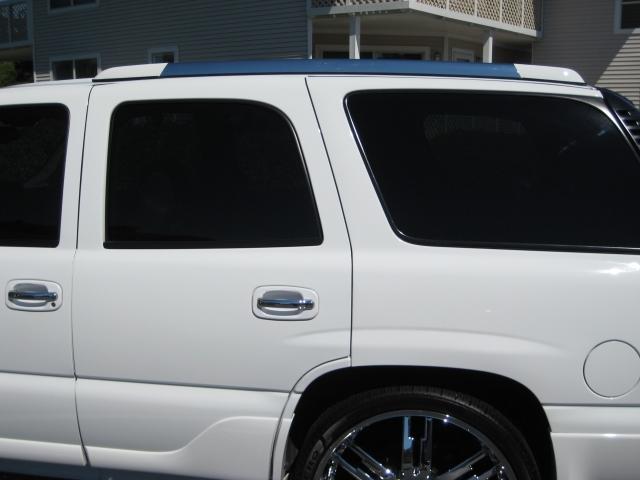 Escalade Roof Rack Painted To Match