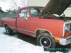 inchez 1990 Dodge Ram 1500 Regular Cab
