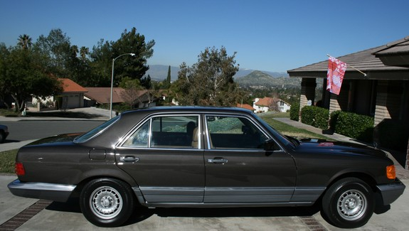 Another 300SDVEGMOBILE 1984 Mercedes-Benz S-Class post... - 11173786