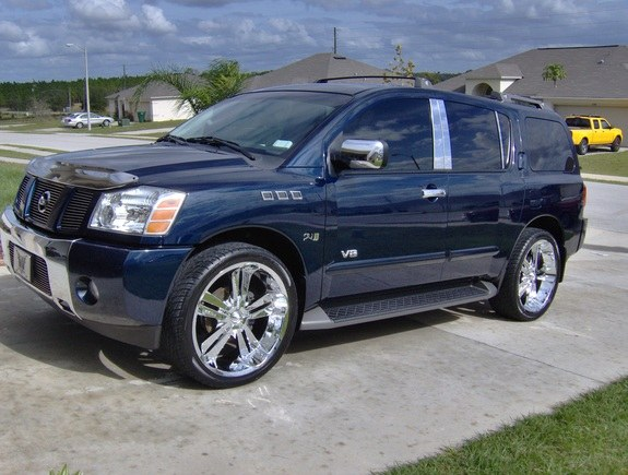 040477 2006 Nissan Pathfinder Armada Specs Photos