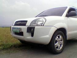 fourths 2007 Hyundai Tucson