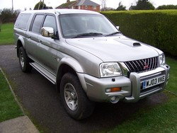 BMGRallyings 2003 Mitsubishi L200