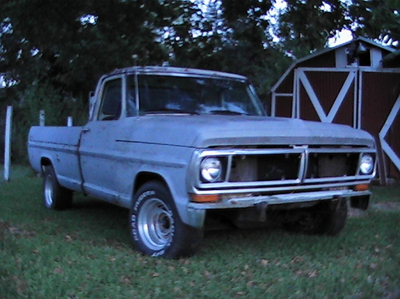 Large on 1970 Ford F 150