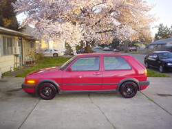 teammonsters 1991 Volkswagen GTI