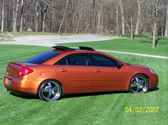 Fusion06gt 2006 Pontiac G6 Specs Photos Modification