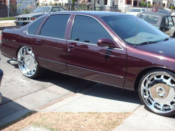 down4whatever 1996 Chevrolet Impala Specs, Photos, Modification Info