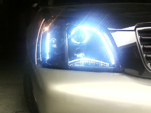 LED brow on headlamp embly 2000+ warning GIANT pics. [Archive ...