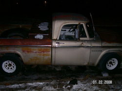 salti 1963 Dodge D150 Club Cab