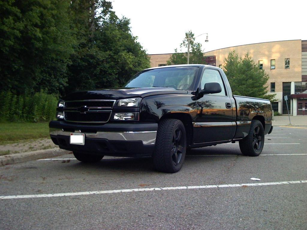 rob06chevy 2006 chevrolet silverado 1500 regular cab specs. Black Bedroom Furniture Sets. Home Design Ideas