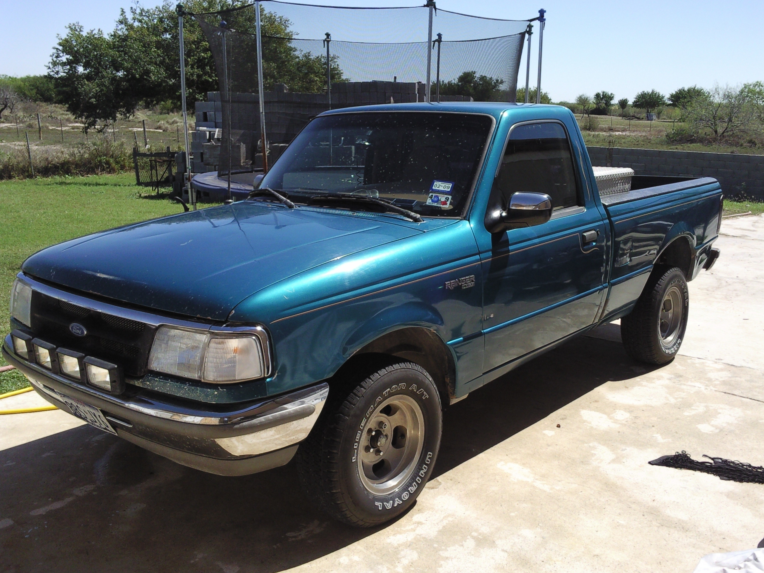 Roelz96Greenster 1996 Ford Ranger Regular Cab