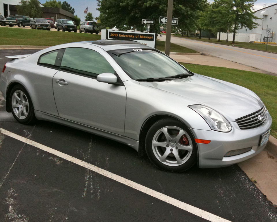 Another kethone 2006 Infiniti G post... - 11069127