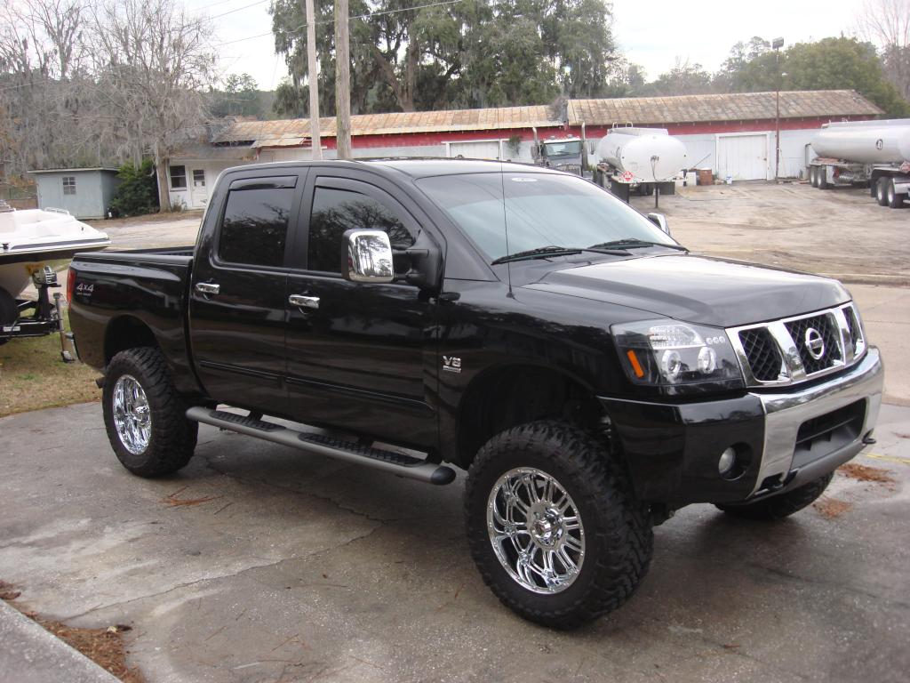 04titanle 2004 nissan titan crew cab specs photos modification info at cardomain. Black Bedroom Furniture Sets. Home Design Ideas