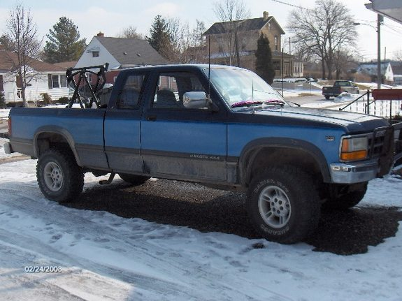 Large on 1991 Dodge Dakota Weight