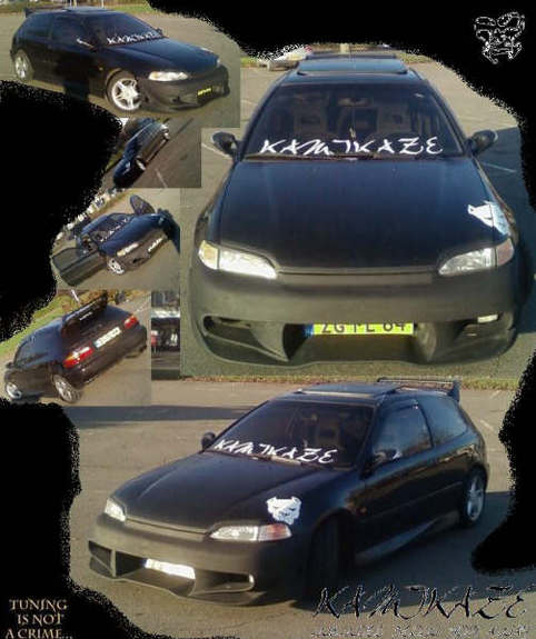 Another KAMIKAZE-TUNING 1992 Honda Civic post... - 11091085