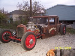 ChopperWorkss 1930 Ford Model A