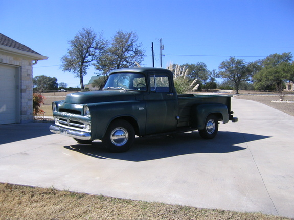 52Dodgeman's 1957 Dodge D150 Club Cab