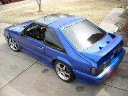 HollisteRHoodluMs 1989 Ford Mustang
