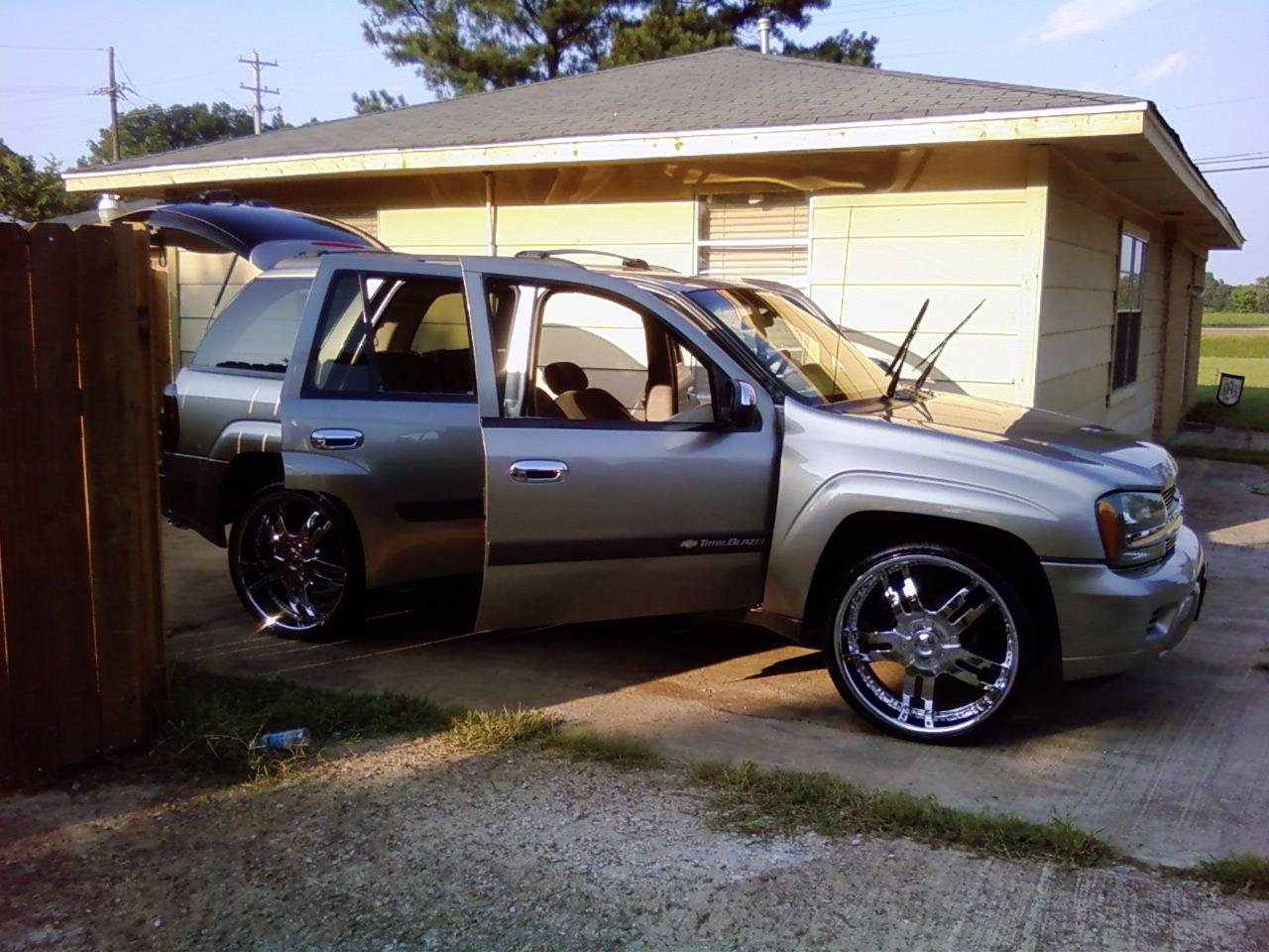 Trall 2003 Chevrolet TrailBlazer Specs, Photos ...