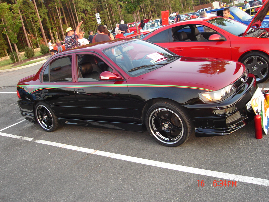 Modified Toyota Corolla 97